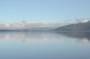 Pastoral Landscape surrounding Lake Rotorua